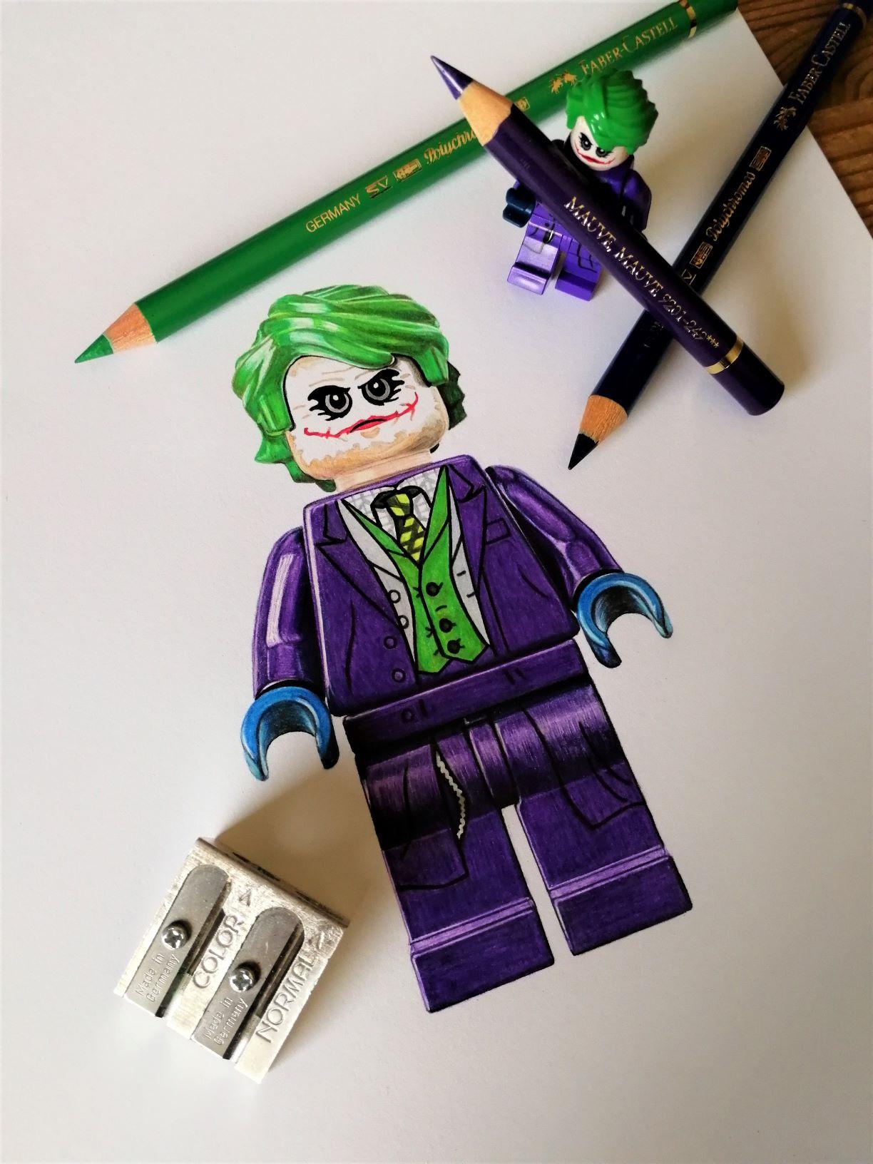 LEGO-Joker (drawing)