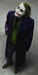 Heath Ledger Joker (drawing)