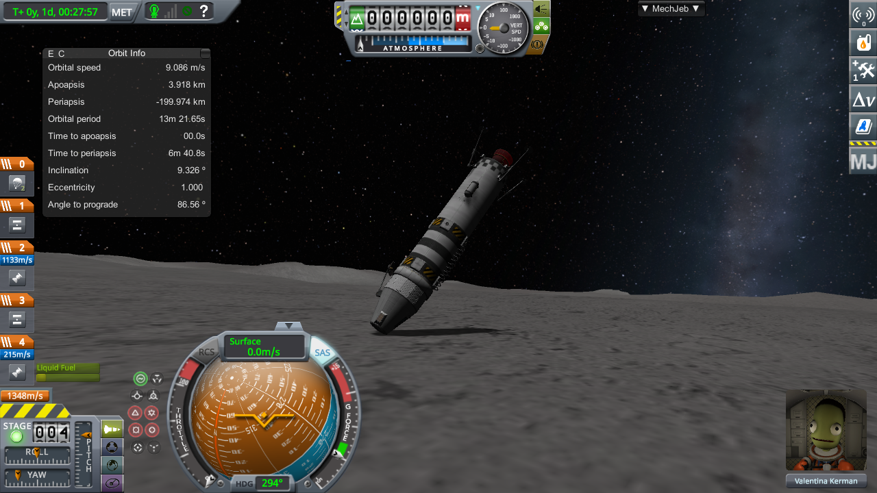 How to Not Land on the Mun
