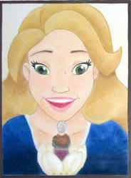 Thumbelina Chalk by bluefootedpenguin
