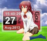 Rainmeter - Gou Matsuoka Free! Calendar