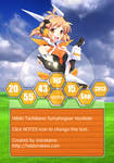 Rainmeter - Hibiki Tachibana Symphogear HexNot