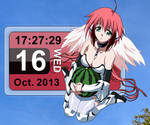 Rainmeter - Ikaros Sora no Otoshimono Calendar