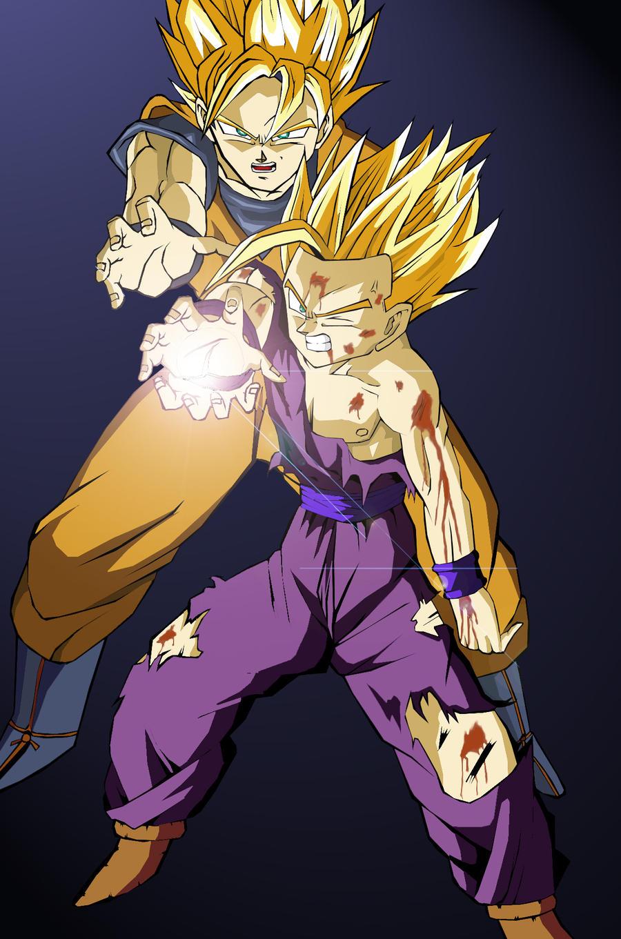 Goku Gohan Kamehameha
