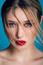 Retro Blue by Lisa-MariePhotog