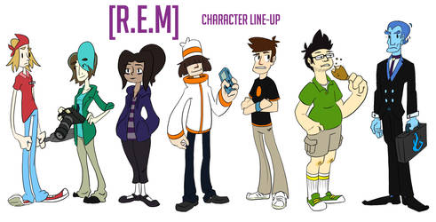 [R.E.M] Character Line-up