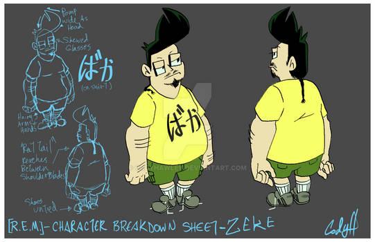 REM ZEKE Charactersheet