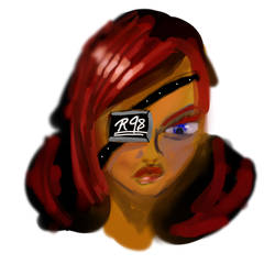 Random RedHead Doodle