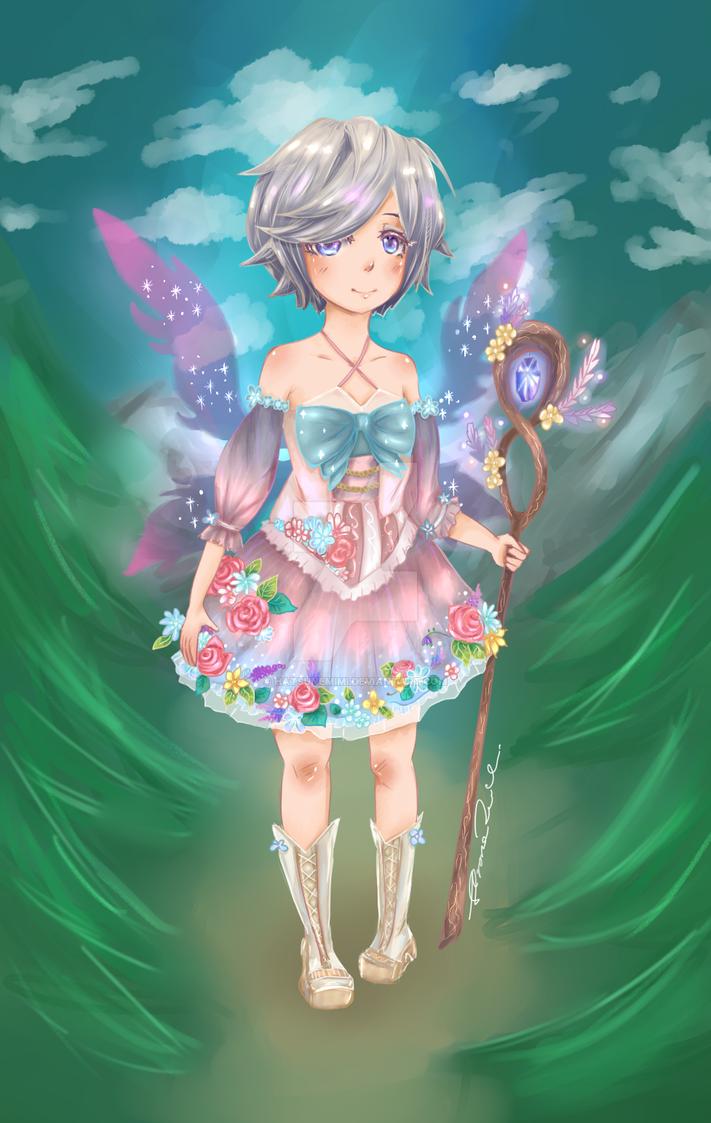 Iris OC by HatsuneMimi