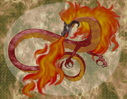Volvagia - Fire Temple - Ocarina of Time by Sirens-of-Rose