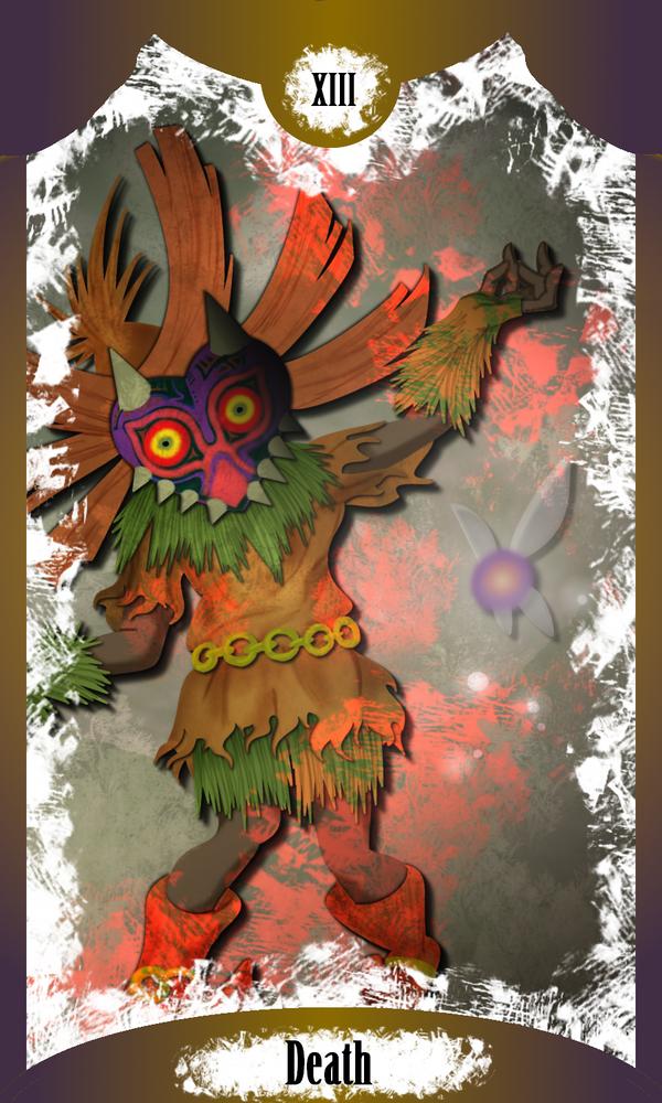Death - Skull Kid (Majora's Mask) by Sirens-of-Rose