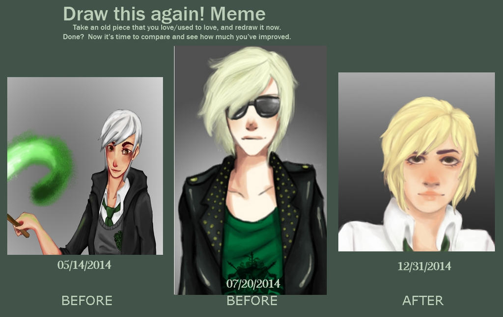 Draw this again Meme by LittleRock34