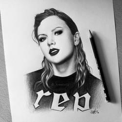 Taylor Swift reputation by kreativityart