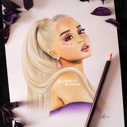Ariana Grande by kreativityart