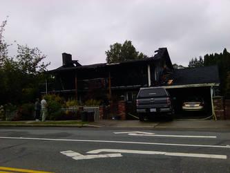 Fire Damage by SilverDrac
