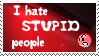 Stupid People by ZeKRoBzS