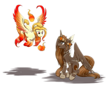 Commission - Autumn Solstice and Solar Flare