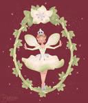 Christmas Fairy - available on Redbubble/Teepublic