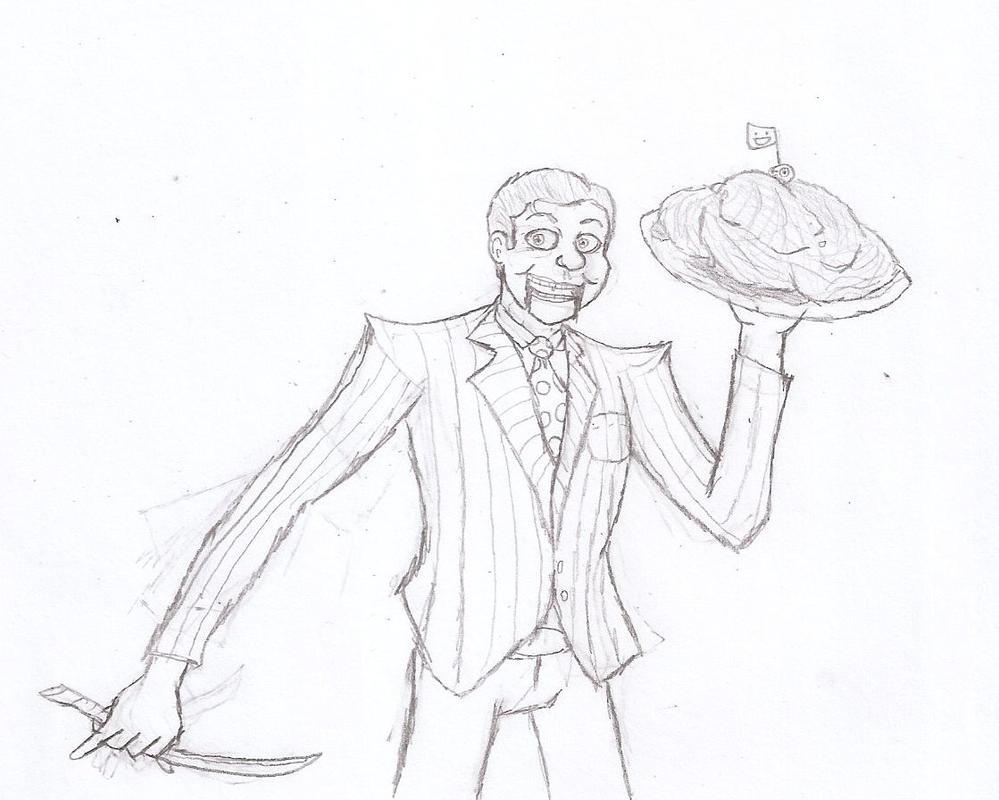 Meat Salesman by Flajingman