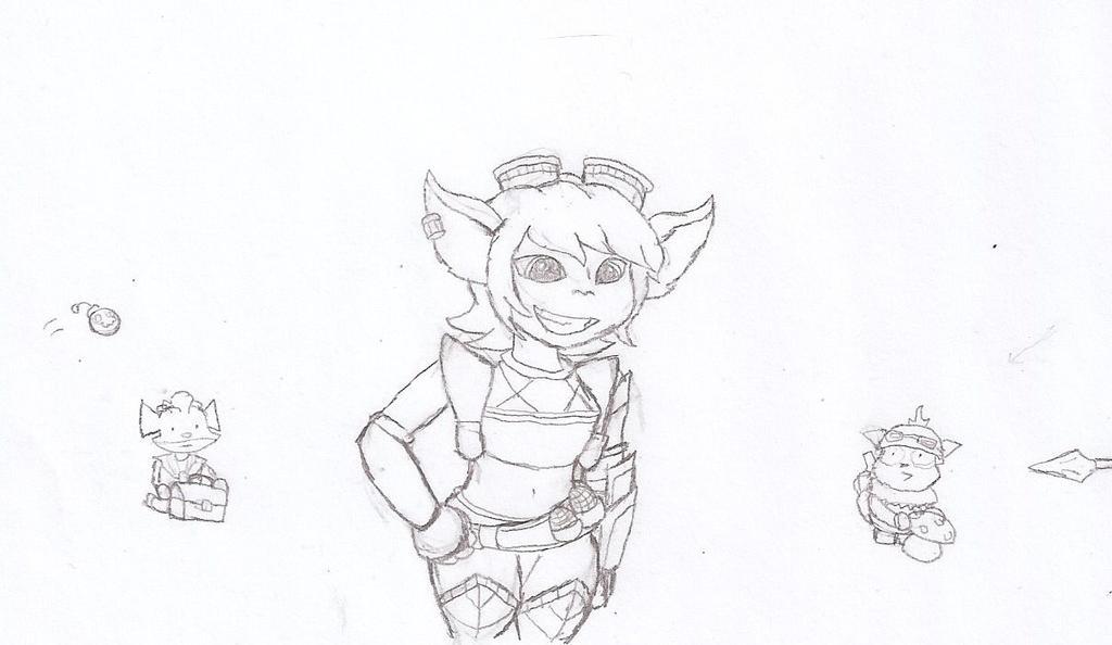 New Trist Sketch by Flajingman