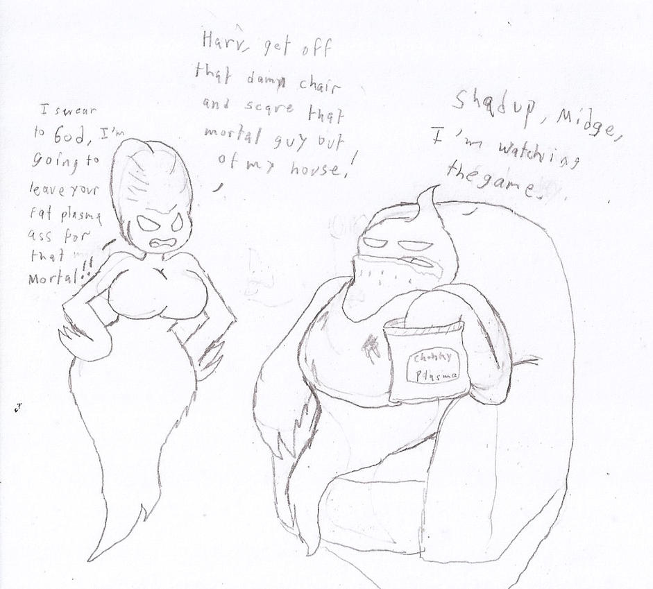 Drawtober 1: Ghost by Flajingman