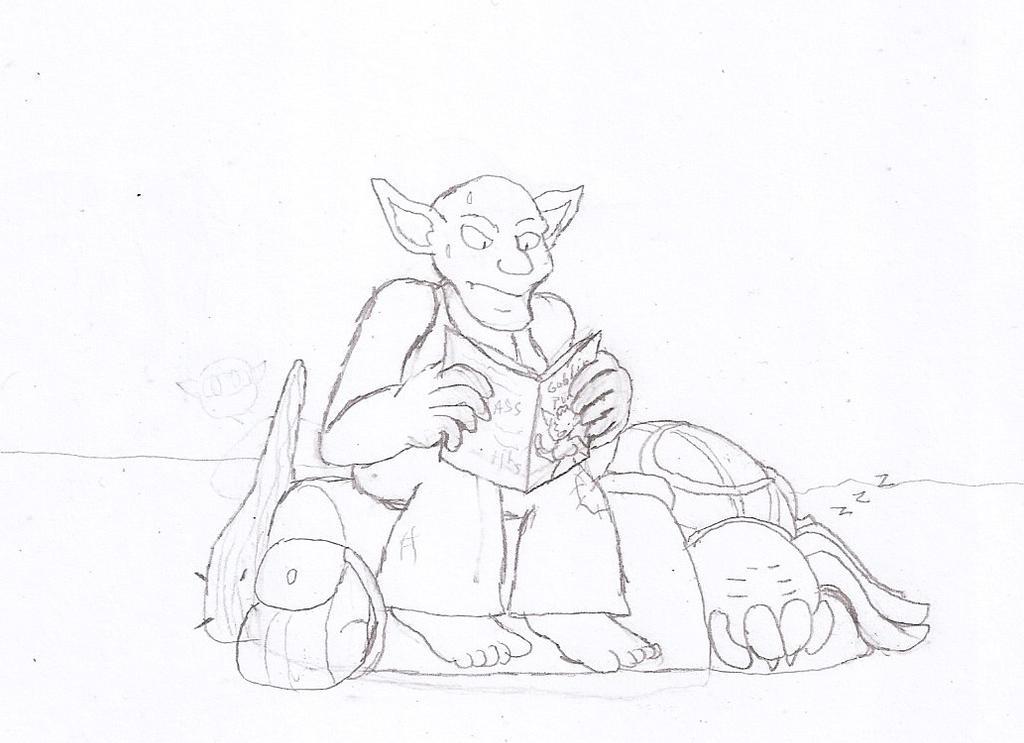 Drawlloween 3: Goblin by Flajingman