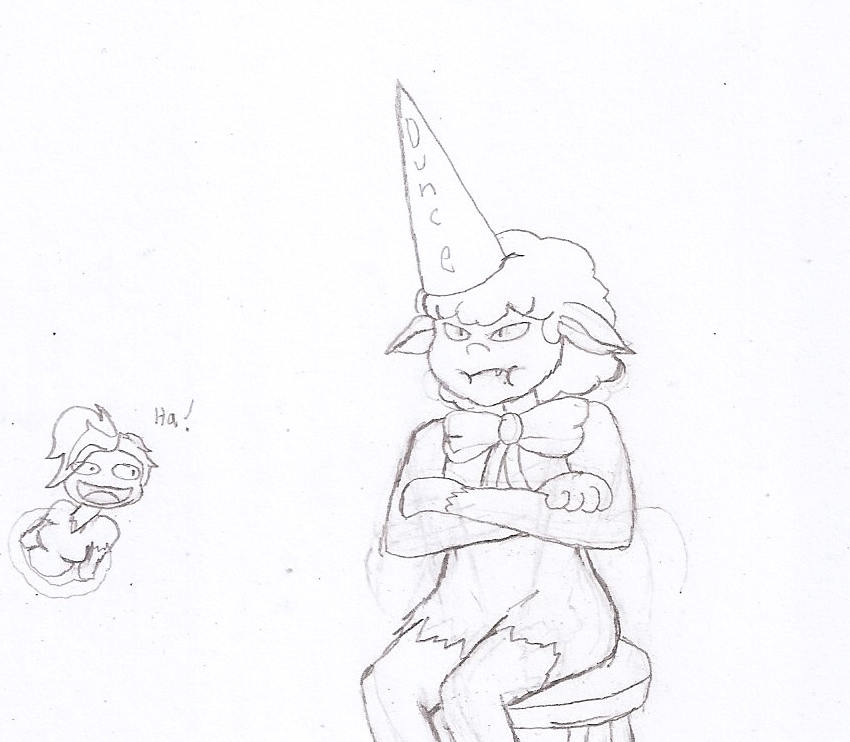 drawlloween 5: Werewolf by Flajingman