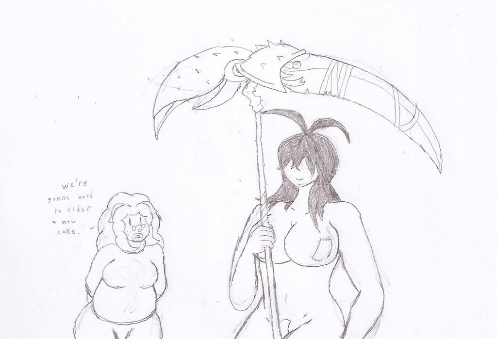 A crabby scythe by Flajingman