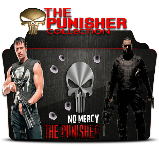 The Punisher collection icon folder By Posseido by Posseido on