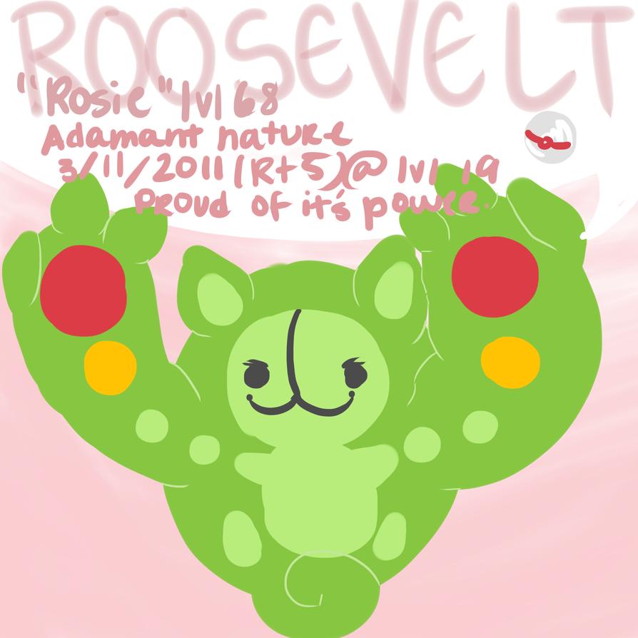 Roosevelt by Arcky-Cano