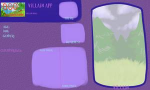 AoO Villain App Blank by Arcky-Cano