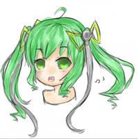 Shiko-tan single layer drawing by Arcky-Cano