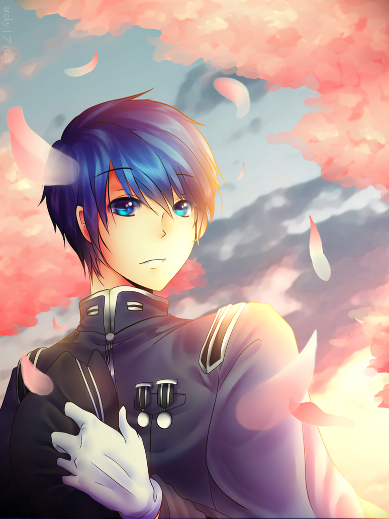 kaito collab by Arcky-Cano
