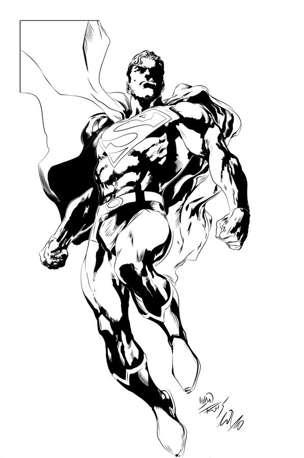 Dream Team - monte aqui sua equipe criativa! - Página 2 Superman_by_ivan_reis_inked_by_hiasi
