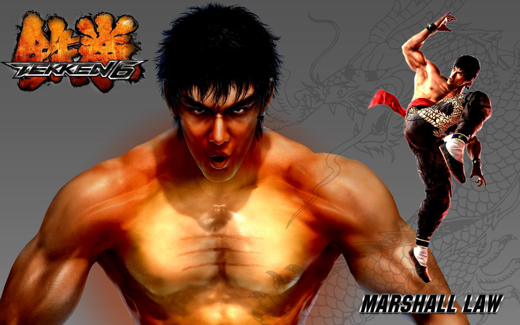 Tekken 6 Marshall Law By Cyber1011 On Deviantart