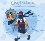 Chrysocolla -Steven Universe OC-
