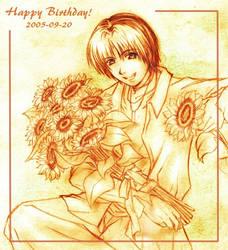 Happy Bday Hikaru! by chicharon