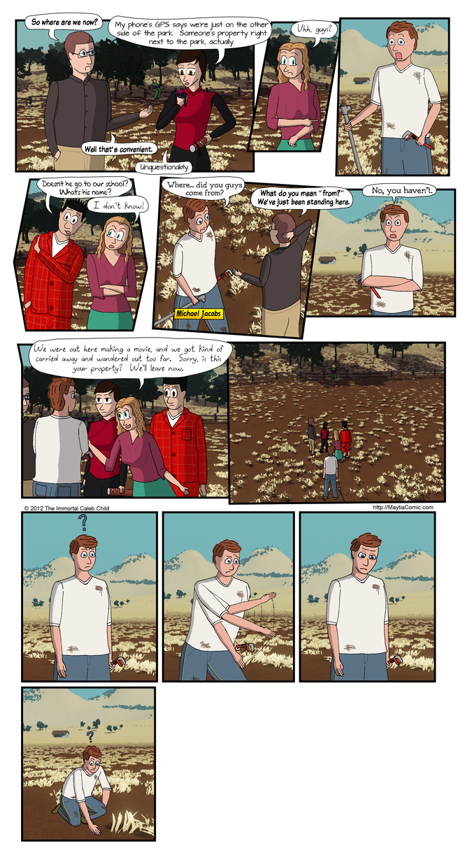 Mischief in Maytia 20 - Back to where it started