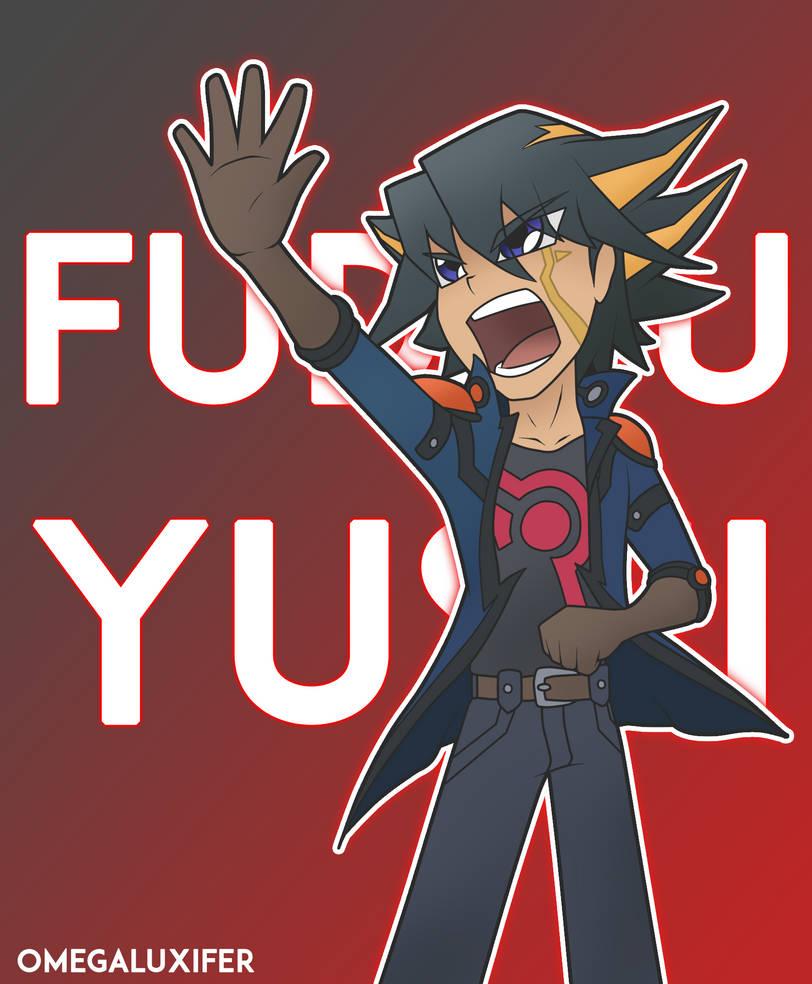 Fudo Yusei (Signer Background) - Yu-Gi-Oh! 5D's