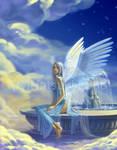 6pair Winged Angel