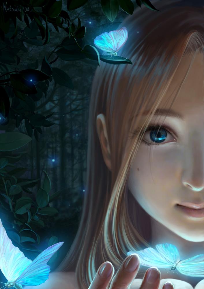 The magic light by Natsuki-3