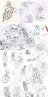 Voca doodles by Natsuki-3