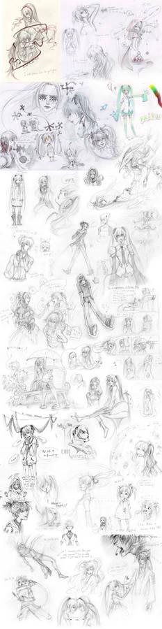 Voca doodles