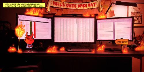 Hell's Gate by PauZak