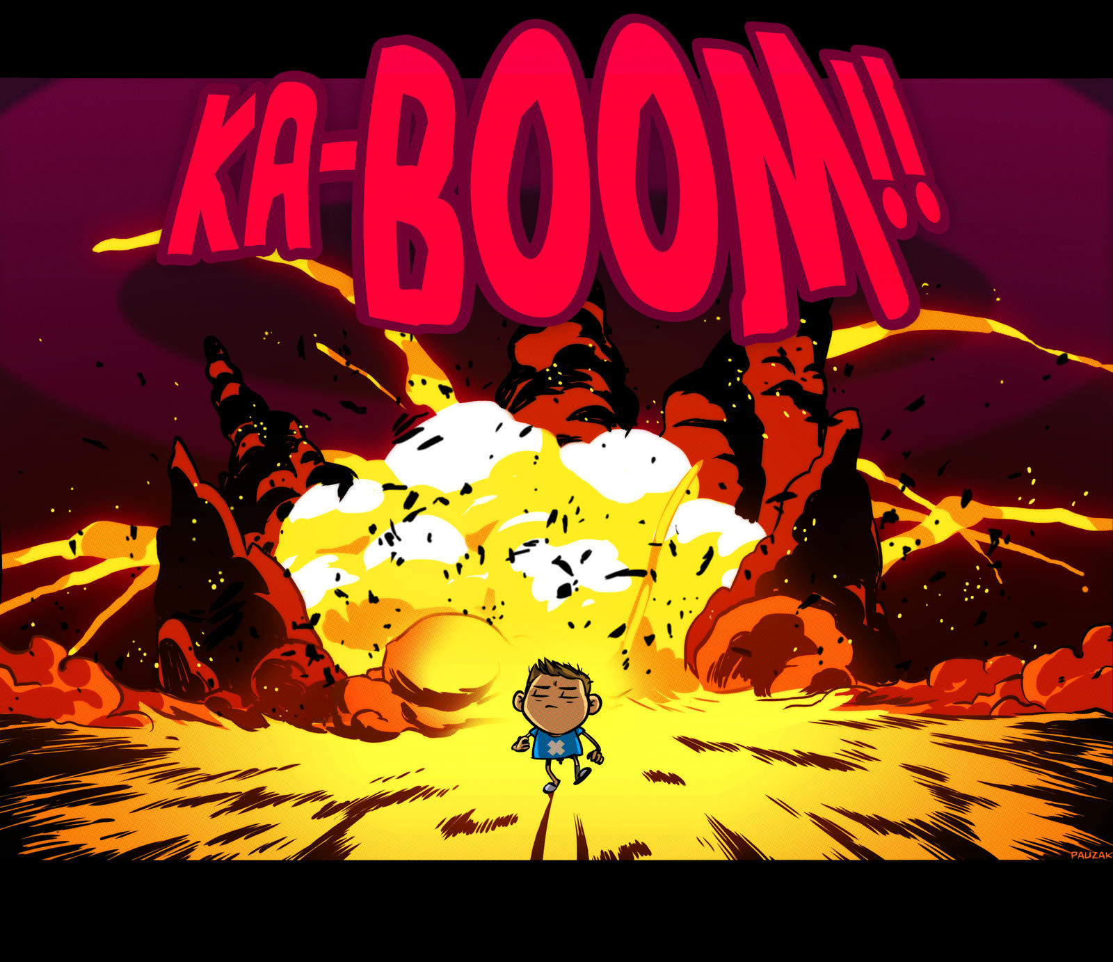 cool guys don't look at explosions by PauZak