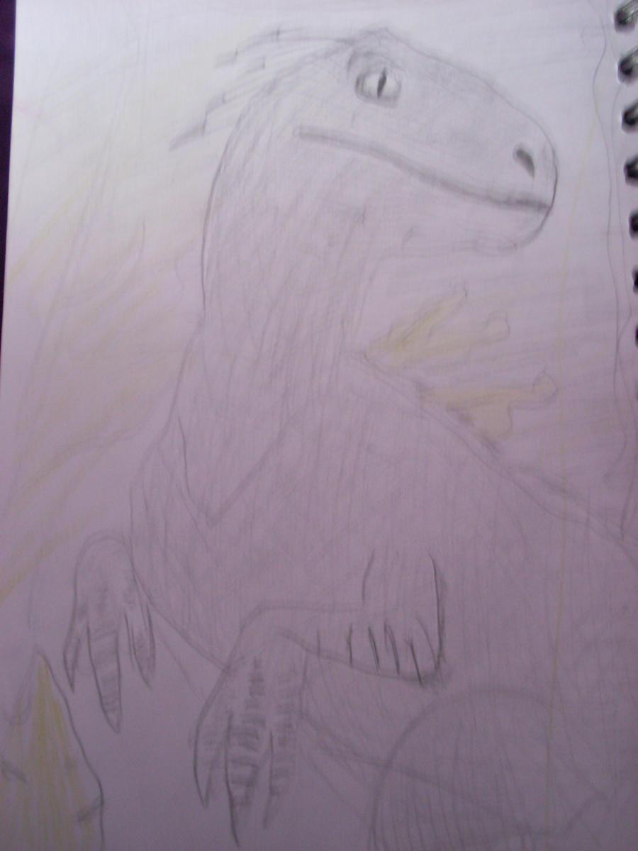 Deinonychus or Velociraptor by ArtemisCreed