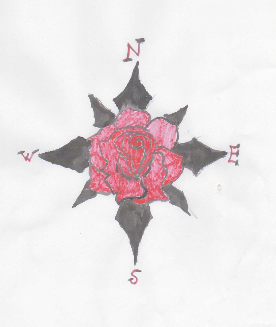 rose tattoo designartemiscreed on deviantart