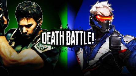 Chris Redfiel vs Soldier 76 by Avoidthisaccount