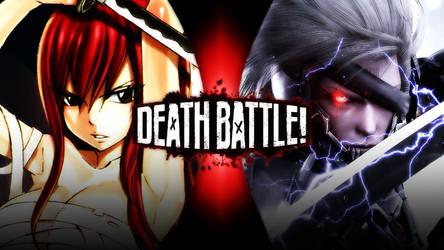 Erza Scarlet vs Raiden by Avoidthisaccount