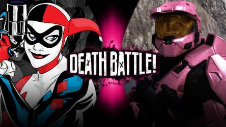 Harley Quinn vs Franklin Delano Donut by Avoidthisaccount